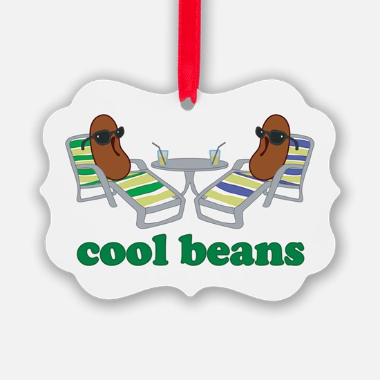 Cool Beans Ornament
