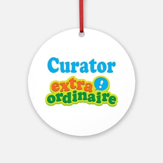 Curator Extraordinaire Ornament (Round)