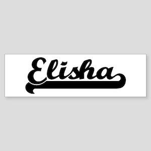 Black jersey: Elisha Bumper Sticker