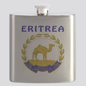 Eritrea Coat of arms Flask