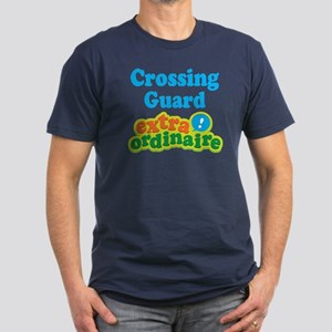Crossing Guard Extraordinaire Men's Fitted T-Shirt