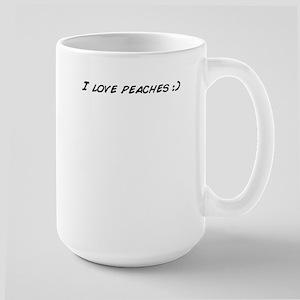 I love peaches :) Mugs
