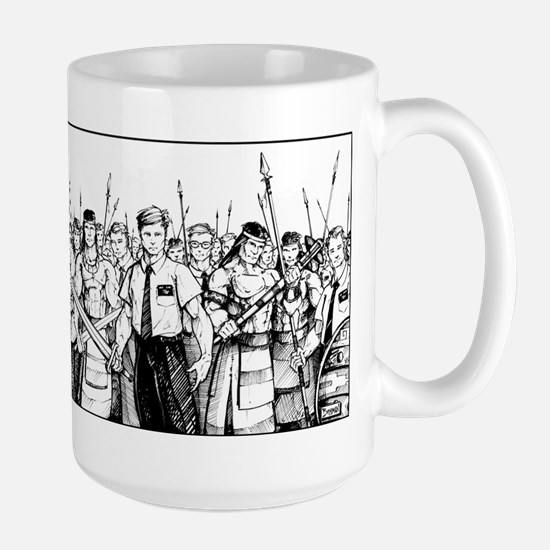 Stripling Warriors Large Mug