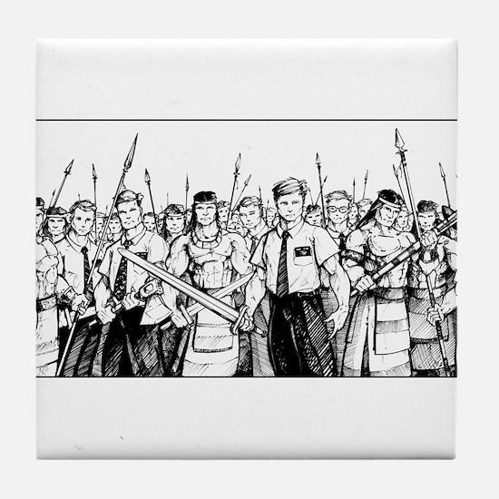 Stripling Warriors Tile Coaster