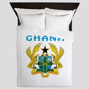 Ghana Coat of arms Queen Duvet