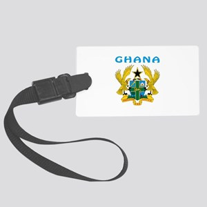 Ghana Coat of arms Large Luggage Tag