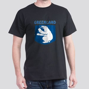 Greenland Coat of arms Dark T-Shirt