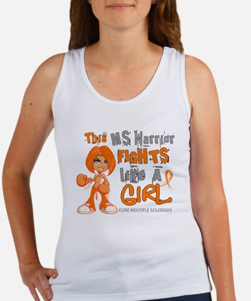 Fights Like a Girl 42.9 MS Women's Tank Top