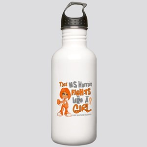 Fights Like a Girl 42.9 MS Stainless Water Bottle