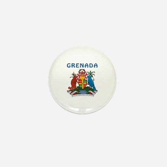 Grenada Coat of arms Mini Button