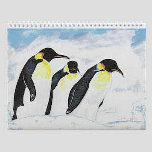 Penguins- God's Creatures Wall Calendar