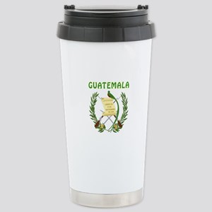 Guatemala Coat of arms Stainless Steel Travel Mug