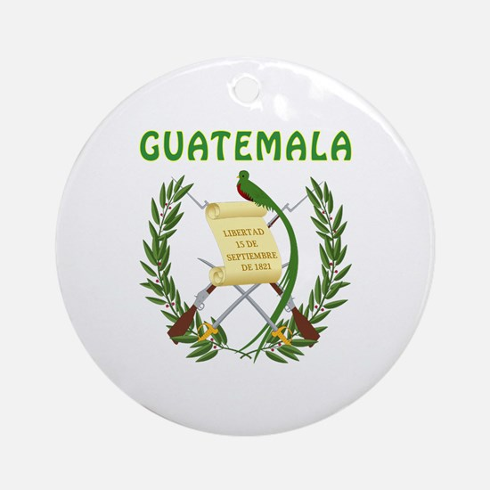 Guatemala Coat of arms Ornament (Round)