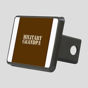 Military Grandpa Rectangular Hitch Cover