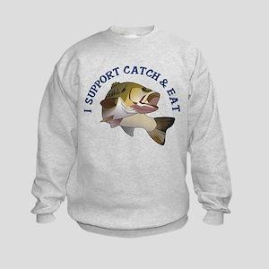 Catch and Eat Kids Sweatshirt