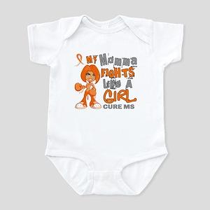 Fights Like a Girl 42.9 MS Infant Bodysuit
