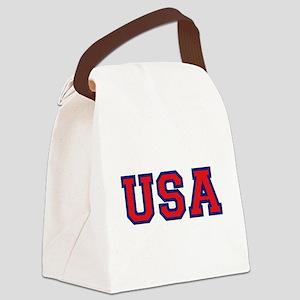 USA Logo Canvas Lunch Bag