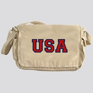 USA Logo Messenger Bag