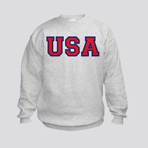 USA Logo Kids Sweatshirt