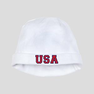 USA Logo baby hat