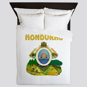 Honduras Coat of arms Queen Duvet