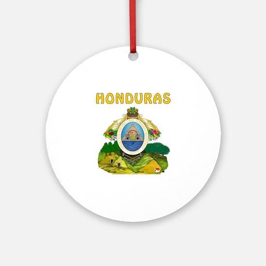 Honduras Coat of arms Ornament (Round)