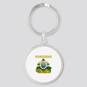Honduras Coat of arms Round Keychain