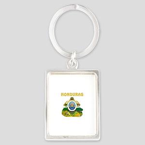 Honduras Coat of arms Portrait Keychain