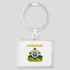 Honduras Coat of arms Landscape Keychain