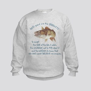 A Fishermans Prayer Kids Sweatshirt