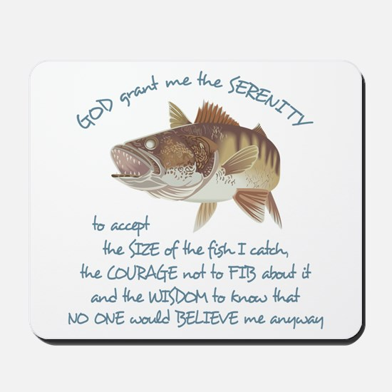 A Fishermans Prayer Mousepad