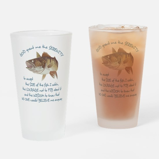 A Fishermans Prayer Drinking Glass