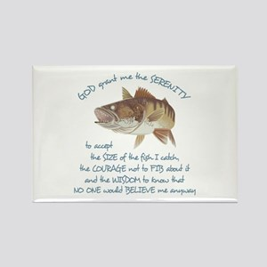 A Fishermans Prayer Rectangle Magnet
