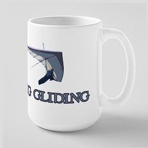 Hang Gliding Large Mug