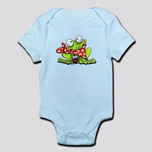 Blushing Frog Infant Bodysuit