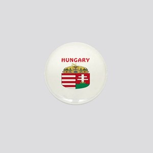 Hungary Coat of arms Mini Button