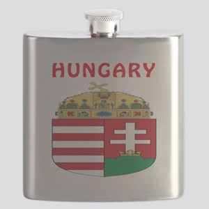 Hungary Coat of arms Flask