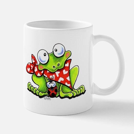 Blushing Frog Mug
