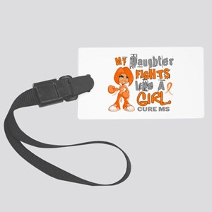 Fights Like a Girl 42.9 MS Large Luggage Tag
