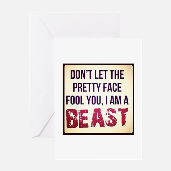 Dont be fooled Greeting Card