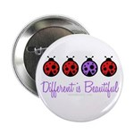 different is beautiful Button