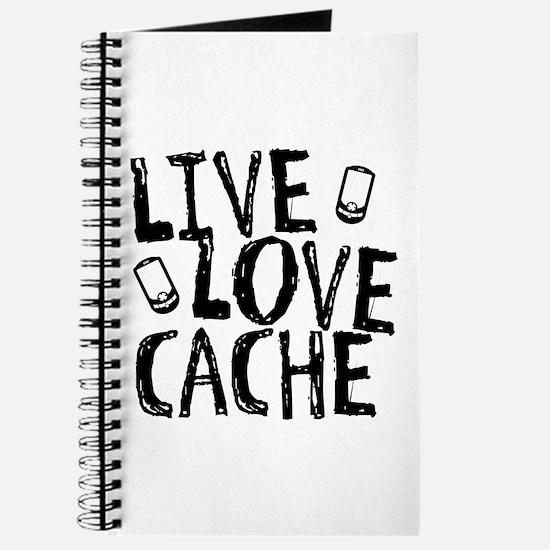 Live, Love, Cache Journal