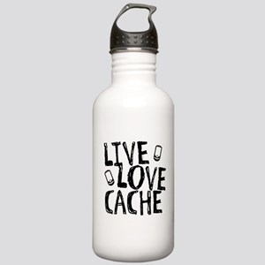 Live, Love, Cache Stainless Water Bottle 1.0L