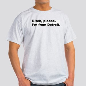 Im from Detroit Light T-Shirt