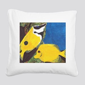 Fish Square Canvas Pillow