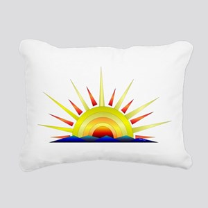 Sunny Day Rectangular Canvas Pillow