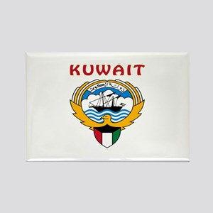 Kuwait Coat of arms Rectangle Magnet