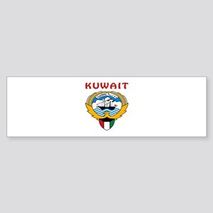 Kuwait Coat of arms Sticker (Bumper)