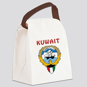 Kuwait Coat of arms Canvas Lunch Bag