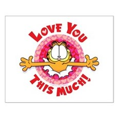 Love You This Much! Small Poster